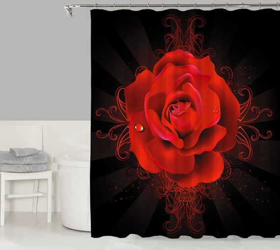 Items Similar To Floral Fantasy Shower Curtain