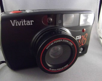 Vivitar WZ28 35mm Point and Shoot Camera with Power Zoom
