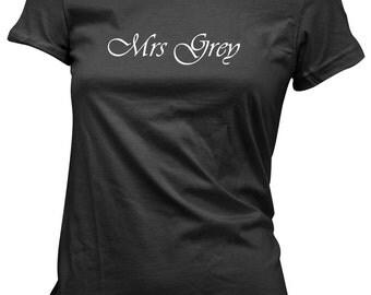 Mrs Grey Women's Tee - Fifty Shades - Valentine's Day T-Shirt