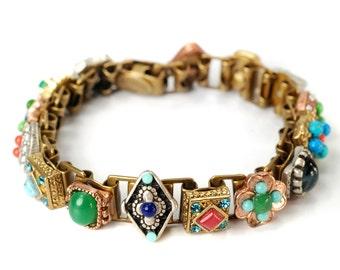 Gypsy Bracelet, Southwest Bracelet, Rustic Jewelry, Rustic Bracelet, Cowgirl Jewelry, Southwestern Jewelry, Cowgirl Bracelet BR636-SW