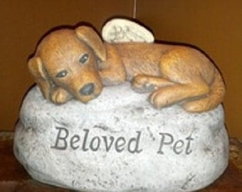 Beloved Pet Rock - Dog