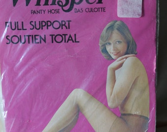 80s Pantyhose by Whisper Vintage Lingerie Nylons