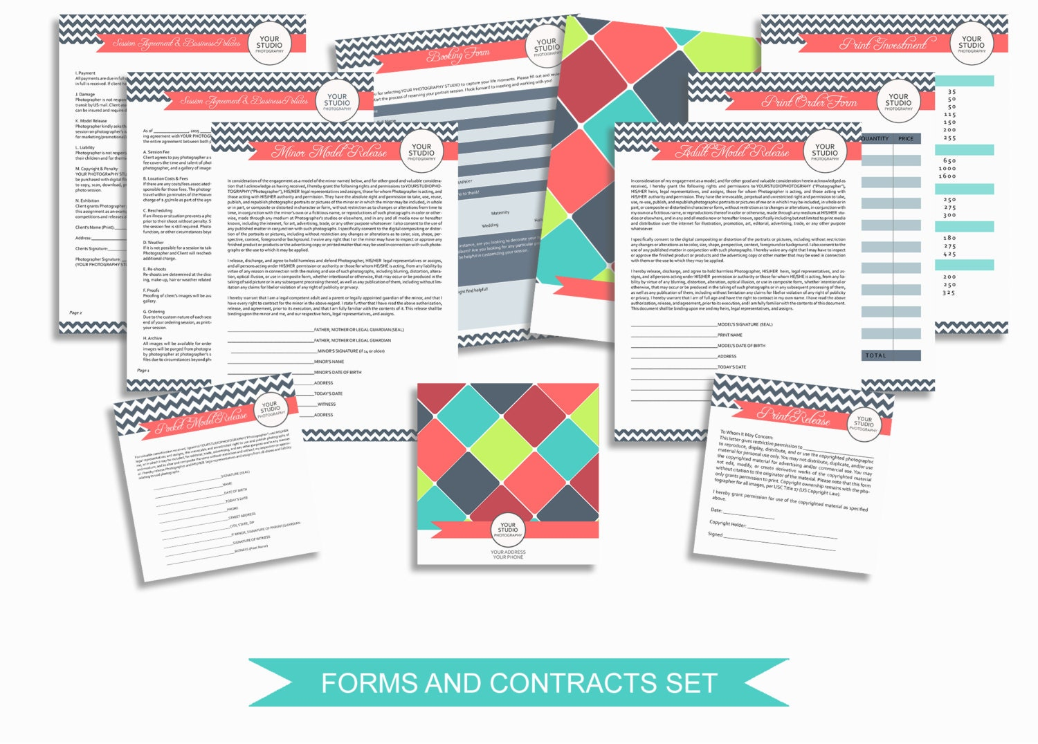 graphy Business Forms and Contracts Marketing