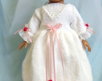 A Charming Wedding, Knitting Patterns for 18-inch Dolls - Immediate Download - PDF - Fit American Girl Dolls