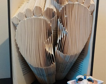 Foot Prints Book Fold