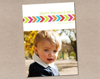 Holiday Photo Card: Simply Bright & Right