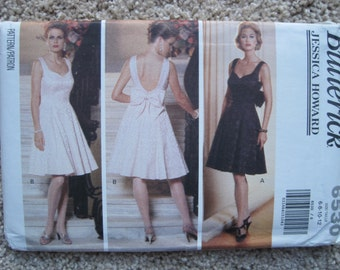 UNCUT Misses Dress - Butterick Pattern 6530 - Vintage 1992