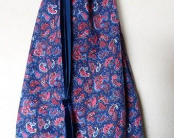 Jumbo Pasley Drawstring Bag
