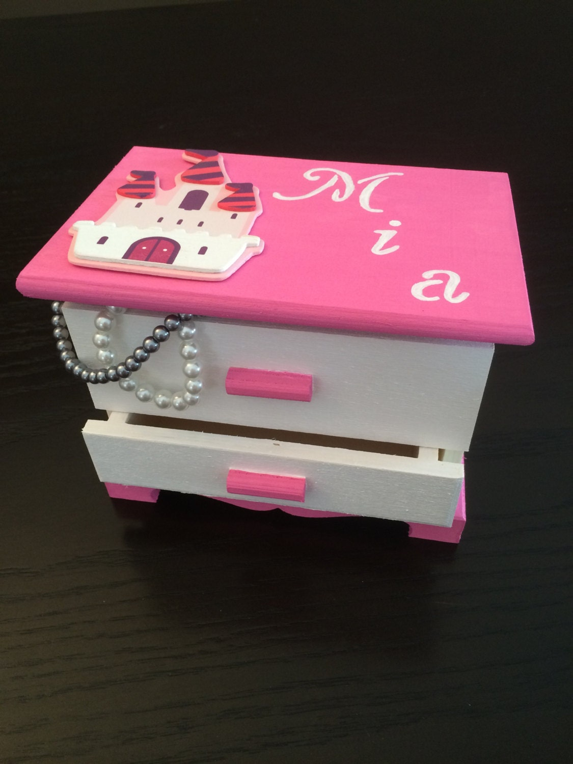 Girls Jewelry Box Girls Christmas Gift Pink Customized