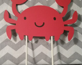 Crab Cake Topper