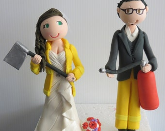 Firefighters Cake Toppers