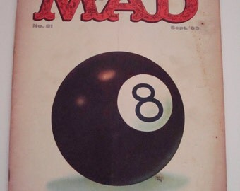 MAD Magazine No. 81 - September 1963