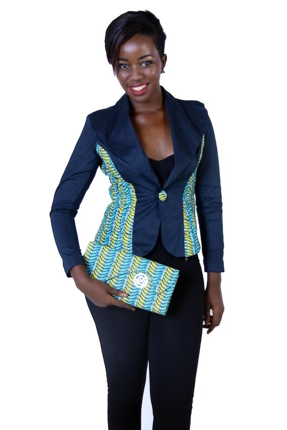 Model de veste pour femme en pagne