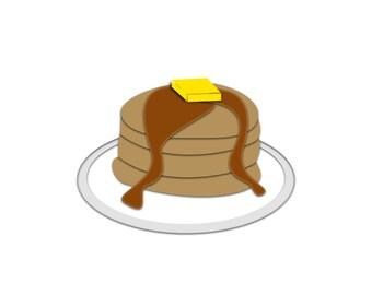 Breakfast clipart | Etsy