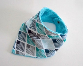 PDF Tutorial and Pattern - Bandana Baby Bib 6m-36m