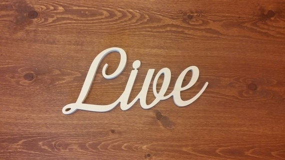 Items similar to 4 Inch Live Unfinished Custom Wooden ...