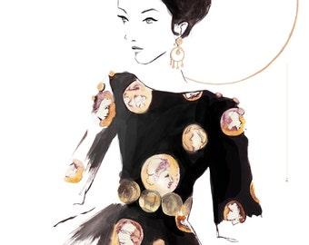 Dolce and Gabbana SS14 Fine Art Print