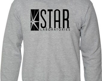STAR Laboratories Sweatshirt The Flash New TV Series S.T.A.R. Labs Fan Jumper