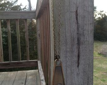 Necklace Steampunk Zipper Pull