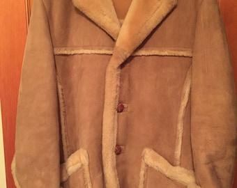 Sawyer II Men's Suede and Wool Vintage Jacket