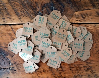 Thank You Tags   Wedding Favor Tags   Wedding Decor   Set of 25