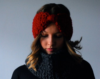 Crochet Cowl Neck Scarf