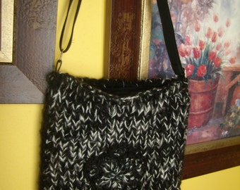 Knitted bag/purse