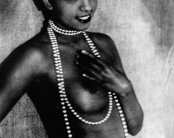Photo of Josephine Baker, dancer, singer and actress, 1920s