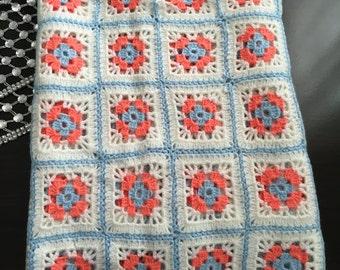 Knit Baby Blanket (Handmade)