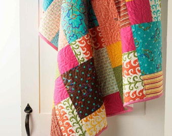 Nine Patch Rearranged Quilt Pattern - EP8365