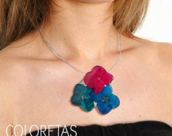Hydrangea flowers Pendant