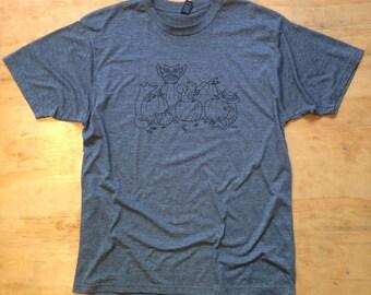 Woodland Halloween Screenprinted Tshirt- Limited Edition