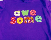 Girls Awesome Hoodie- Girls Hoodie- Toddler Sweatshirt-...