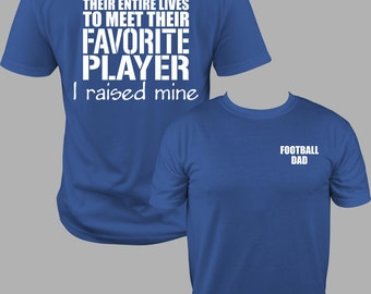Football Dad Shirt, Football dad T, Football Dad T Shirt, football shirt, football t, football dad gift, gift for dad, football gift