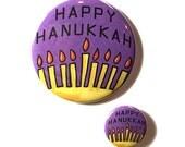 Happy Hanukkah magnet, pi...