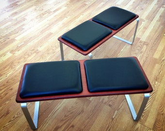 Ply Bak Bench 2 :  Mid Century Modern Retro Atomic style