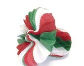 Vintage Honeycomb Paper Christmas Bell
