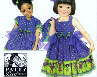 Simplicity 3721 PATTY REED Dress and Jacket OOP