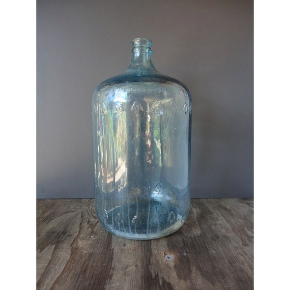 Puritas Arrowhead Water Bottle 5 Gallon Glass Carboy