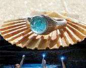 The Real Mako Mermaid Ring Sterling Silver 925 + FREE Shell Box! size 4 to 10 Mako Island of Secrets MoonPool Moon Pool Sirena Lyla Nixie