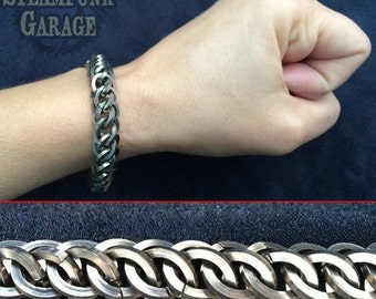 Square Steel - Half Persian 3 in 1 - Chainmaille - Chainmail