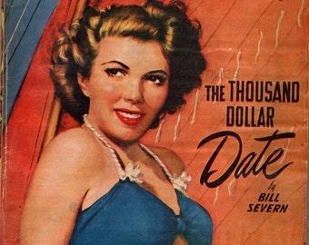 Love Short Stories September 1949 Pulp Fiction Magazine The Thousand Dollar Date Bill Severn