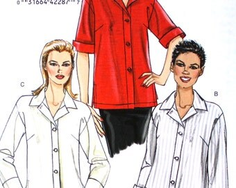UNCUT Loose Fitting Shirt Bust 31.5 - 38