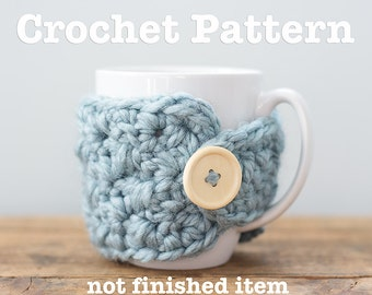 Crochet Pattern - Chunky Mug Cozy