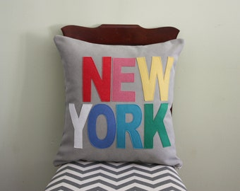 City Pillows // Custom City Pillows // New York // Austin // Boston // Chicago // London // Los Angeles // Nashville // Portland // Seattle