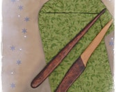 """Athame Wand Set Prim All Cedar Wood Witch Wizard Pagan Wiccan """"La Petite Sorcellerie"""" OOAK"""