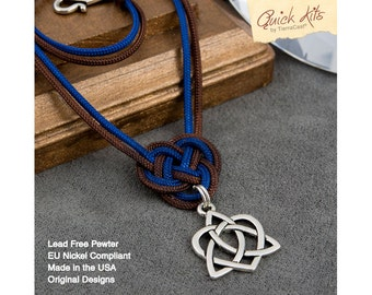 Diy gift kit etsy studio diy necklace kit antique silver celtic necklace do it yourself kit with booklet diy giftable kit gifts for everyone tierracast quick kits solutioingenieria Gallery