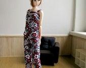 flower overall for momoko blythe doll