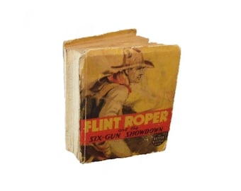 Flint Roper and the Six Gun Showdown - 1941 - Better Little Book series - RARE