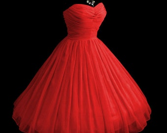 Elegant Strapless Chiffon Confection! Prom... Wedding... Black Tie... Fully Corseted Flattering Bodice with Sweetheart Neckline...